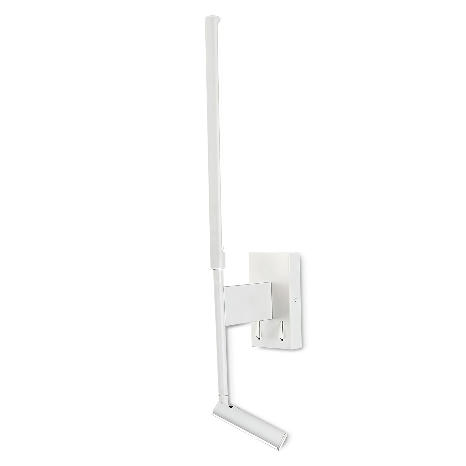 Torch Wall + Reading Light, 6W + 3W LED, 3000K, 592lm Total, Individually Switched, Sand White