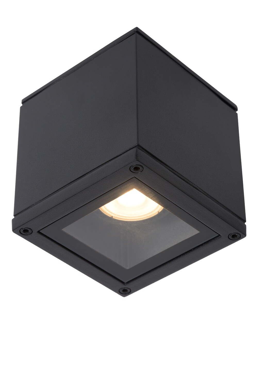 AVEN Ceiling spotlight IP65  9.6x9.6 cm 1xGU10 Black