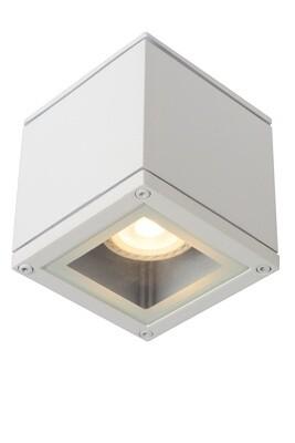 AVEN Ceiling spotlight IP65 9.3x9.3 cm 1xGU10 White