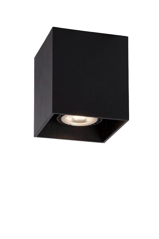 BODI Ceiling Light Square GU10 8.2x8.2 cm Black (LED lightsource included)