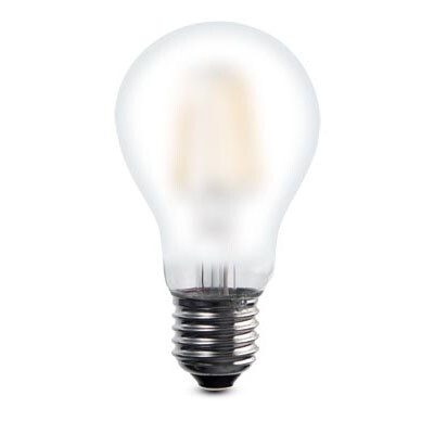PACK OF 6 E27-LED filament-A60 7 Watt 2700K (warm white) 820lm frosted