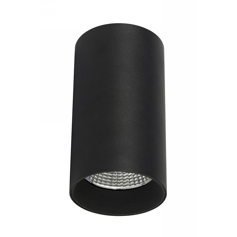 Eos 20, 20W, 450mA, Black & Black, Surface LED Spotlight, 1560lm, 40°, 4000K Natural White, IP20, Driver INC.
