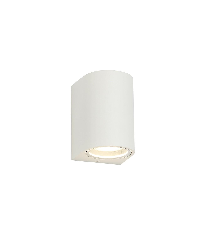 ZARO Curved Wall Lamp, 1 x GU10, IP54, Sand White