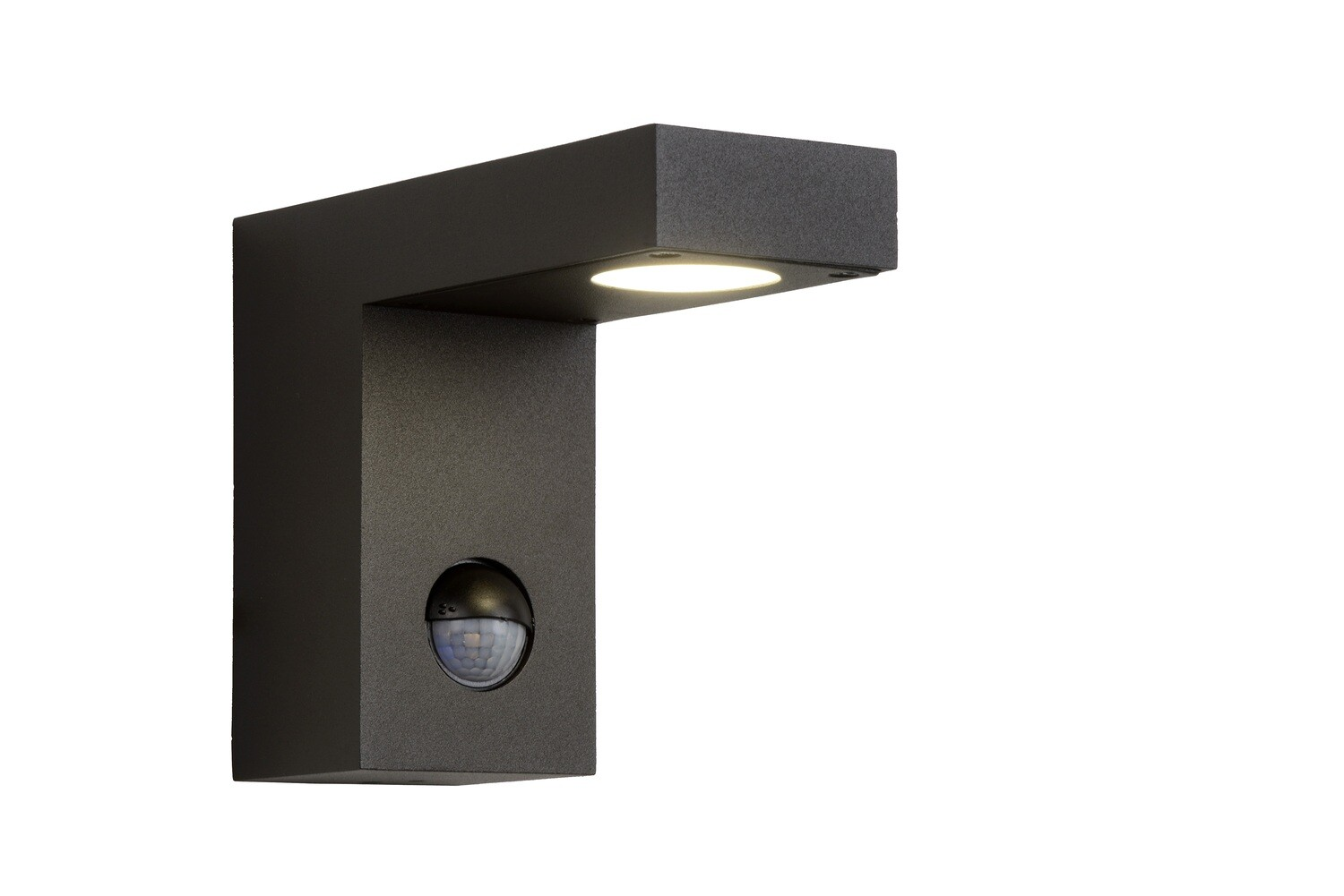 TEXAS-IR Wall Light with Motion Sensor Outdoor LED 1x8W 3000K IP54 Anthracite