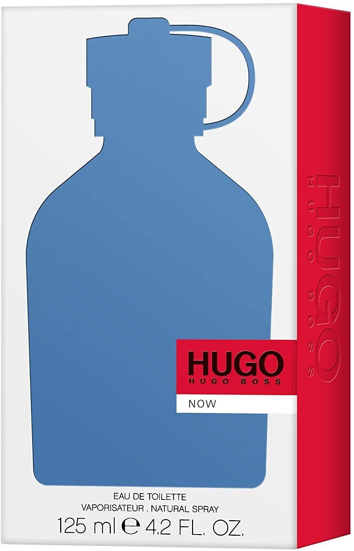 عطر ناو للرجال من هوجو بوس، او دو تواليت - 125 مل