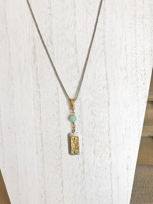 Gold & Silver Hammered - long style