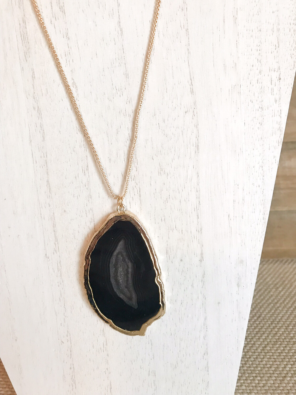 Black Agate ~ Long Style