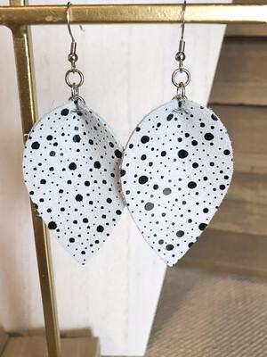Gray & Polka Dots