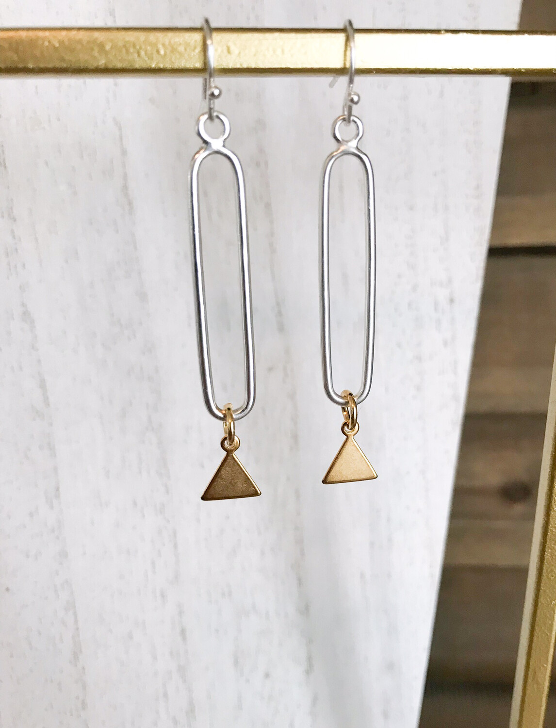 Gold Triangle & Silver