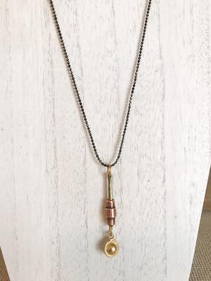 Gold, Copper & Black - Long