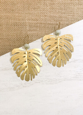 Monstera Brass Leaf