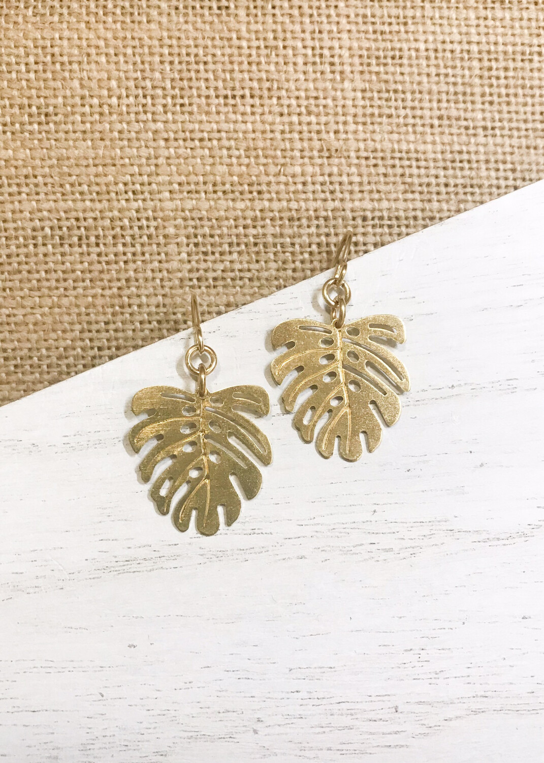 Mini Monstera Brass Leaf
