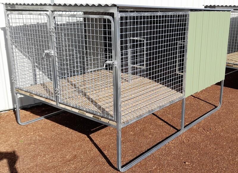 Dog Kennel - 2 Bay