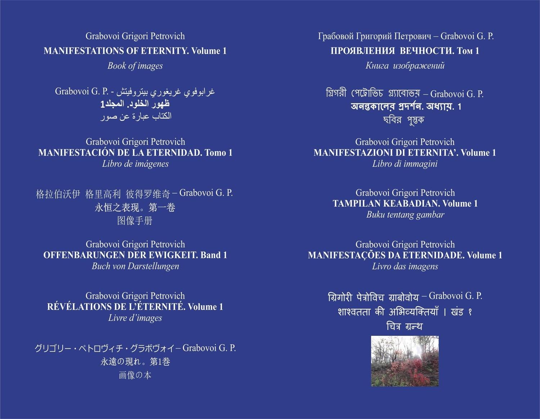 . ظهور الخلود. المجلد 1 [Manifestations of Eternity. Volume 1] (hardcover)