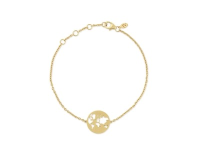 BEAUTIFUL WORLD BRACELET - GOLD