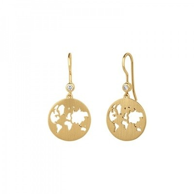 BEAUTIFUL WORLD EARRINGS - GOLD