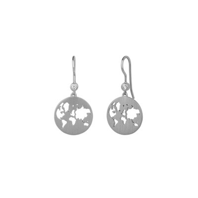 BEAUTIFUL WORLD EARRINGS - SILVER