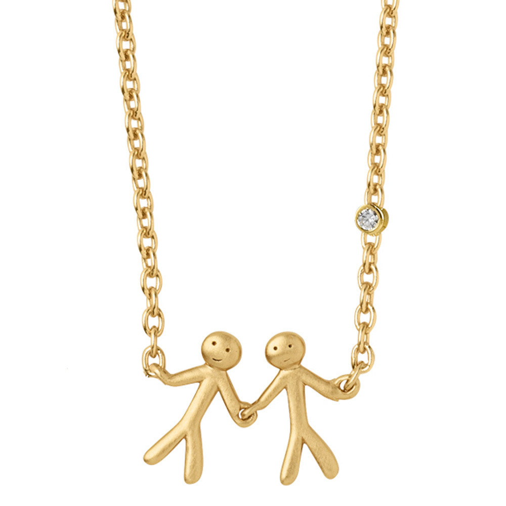 TOGETHER - MY LOVE NECKLACE - GOLD