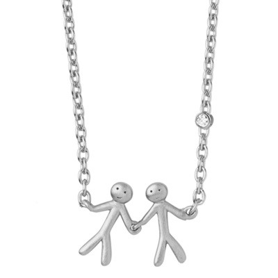 TOGETHER - MY LOVE NECKLACE - SILVER