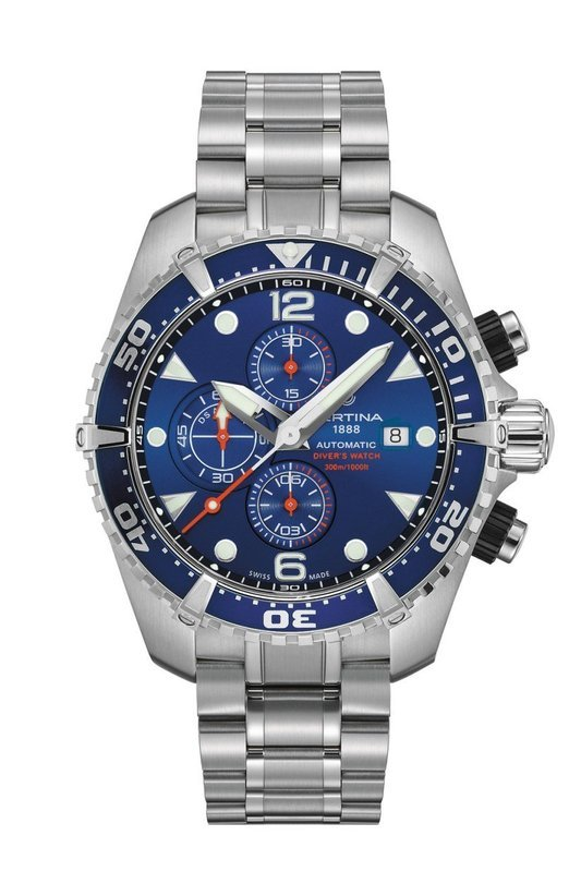 DS Action Diver Chronograph