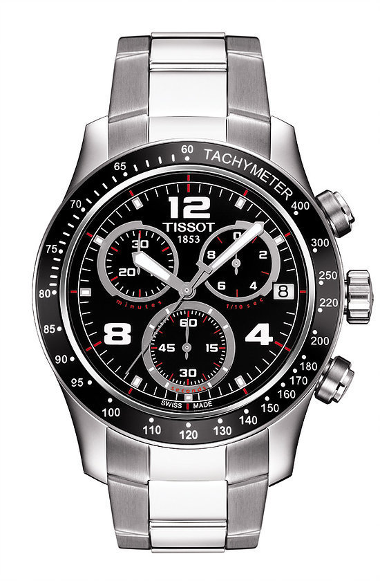 TISSOT V8 Black indexes