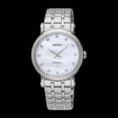Seiko Premier Date Calendar Dame 30 mm SXB433P1