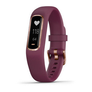 Garmin vívosmart® 4 Rose Gold with Berry Band