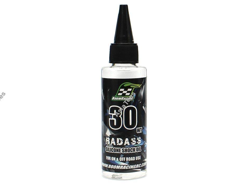 Boom Racing BADASS Silicone Shock Oil 30wt 60ml BRSHK030