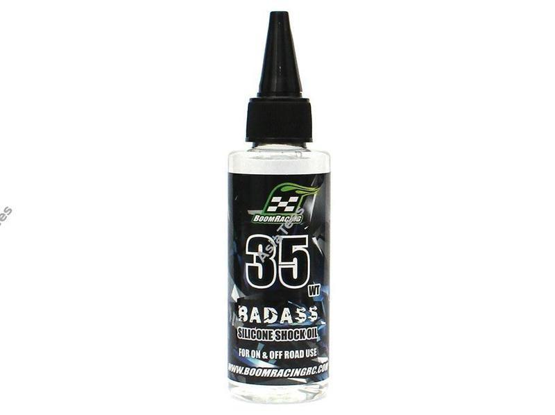 Boom Racing BADASS Silicone Shock Oil 35wt 60ml BRSHK035