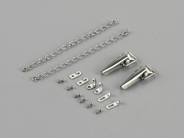 Killerbody Metal Lock Catch / Latch for 1/10 RC Car Toyota LC70 KB/48613
