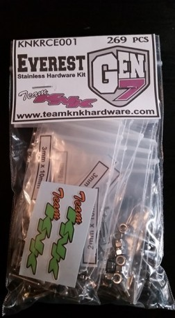 KNK RedCat Everest Gen 7 Stainless Hardware Kit