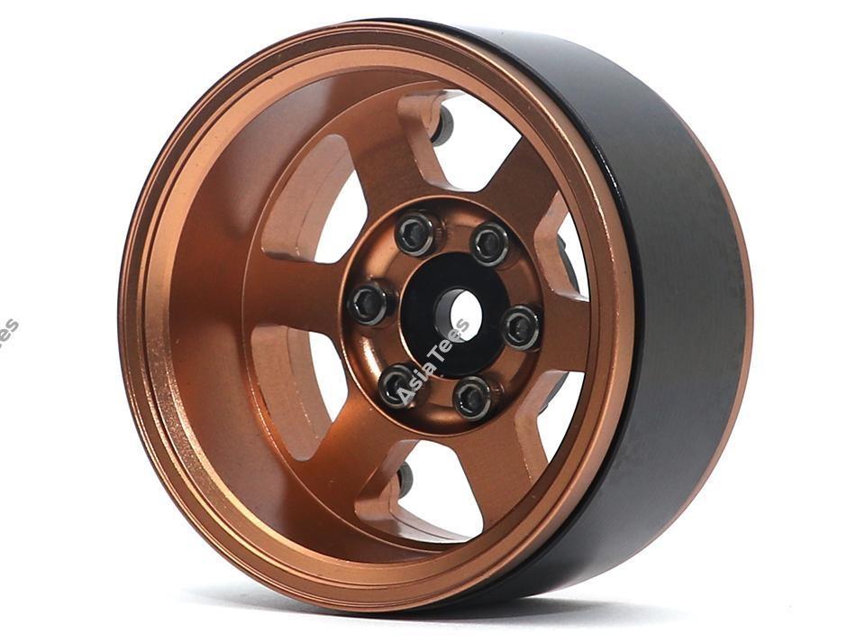 Boom Racing TE37XD KRAIT™ 1.9 Deep Dish Aluminum Beadlock Wheels w/ XT601 Hubs (4) Bronze BRW780913BZ