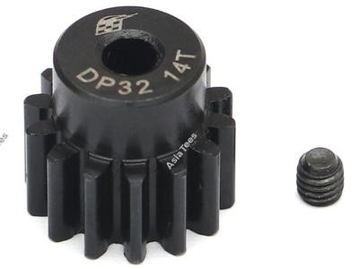 Boom Racing 32P 14T / 3.175mm Steel Pinion Gear - 1 Pc BRPG3214-3