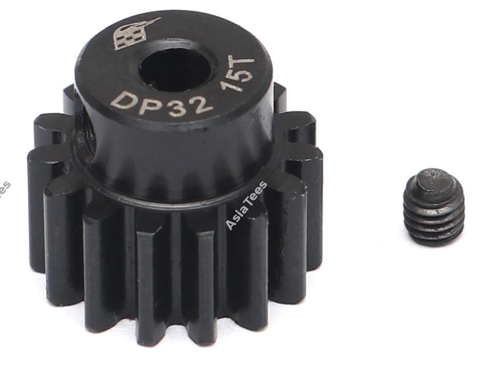 Boom Racing 32P 15T / 3.175mm Steel Pinion Gear - 1 Pc BRPG3215-3