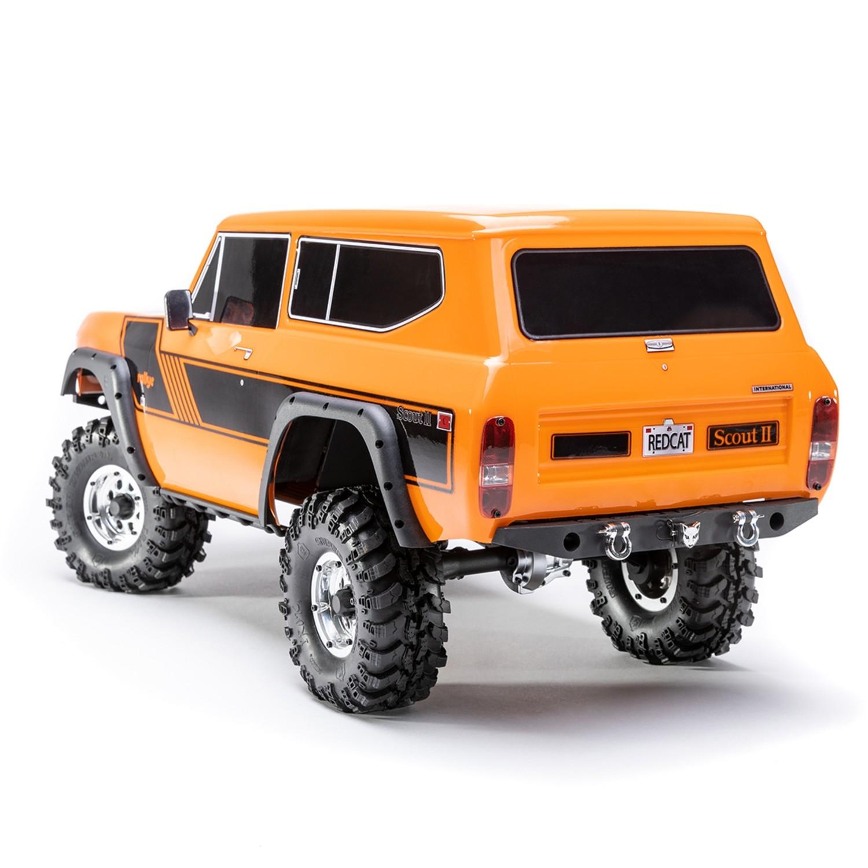 Redcat Racing Gen8 Scout II 1/10 Scale Crawler (Orange)