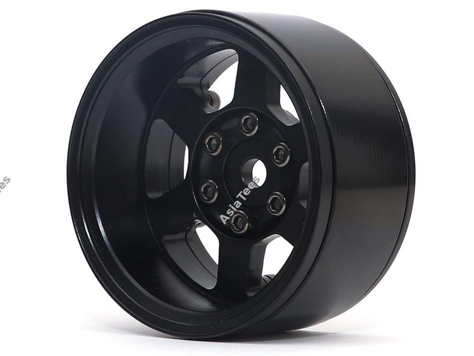 Boom Racing TE37XD KRAIT™ 1.9 Deep Dish Aluminum Beadlock Wheels w/ XT601 Hubs (4) Black BRW780913BK
