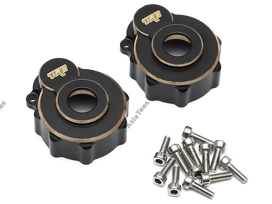 Team Raffee Co. Brass Portal Axle Cover (2) for TRX4 for Traxxas TRX-4 TRC/302464