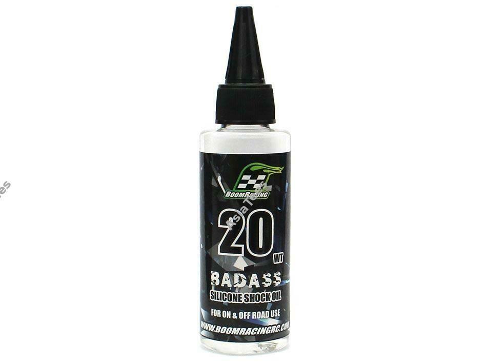 Boom Racing BADASS Silicone Shock Oil 20wt 60ml BRSHK020