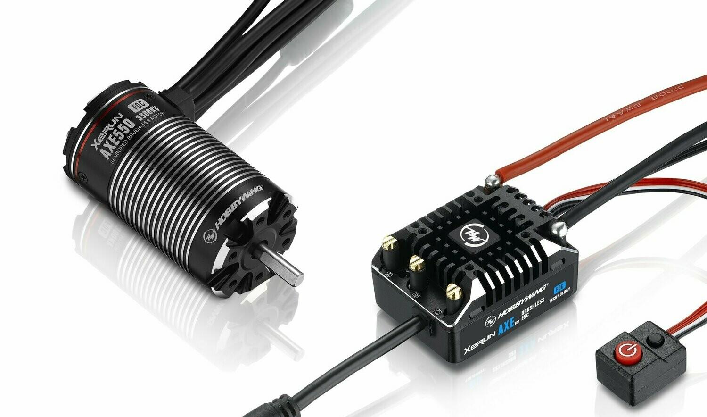Hobbywing XeRun AXE ESC FOC System, Combo w/ AXE550 Motor 3300kv