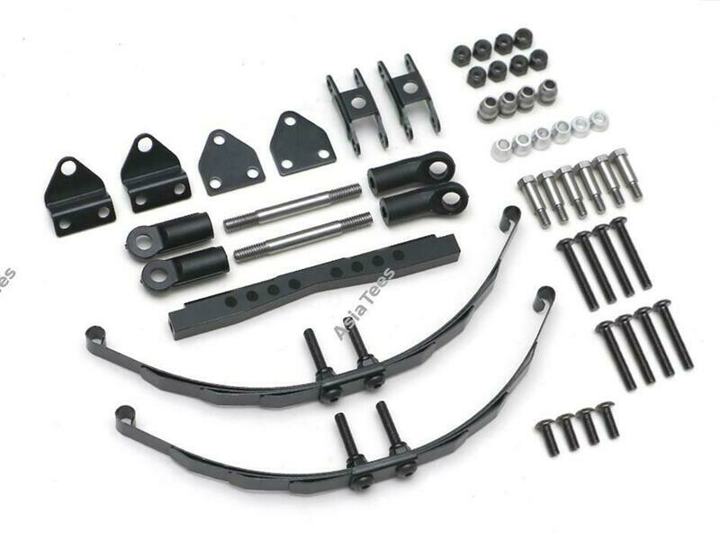 Boom Racing Rear Leaf Spring Conversion Kit for Boom Racing BRX01 BRLC7064