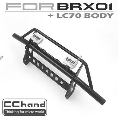 CChand Buffalo Front Bumper + IPF LED Light for Boom Racing BRX01 CC/D-AA04