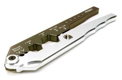 Integy Billet Machined Maintenance Shock Shaft Pliers & Ball End Tool C26883SILVER
