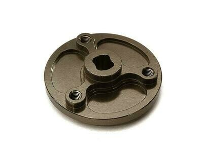 Integy Billet Machined Spur Gear Adapter Hub for Redcat Everest Gen7 Pro C28430GREY