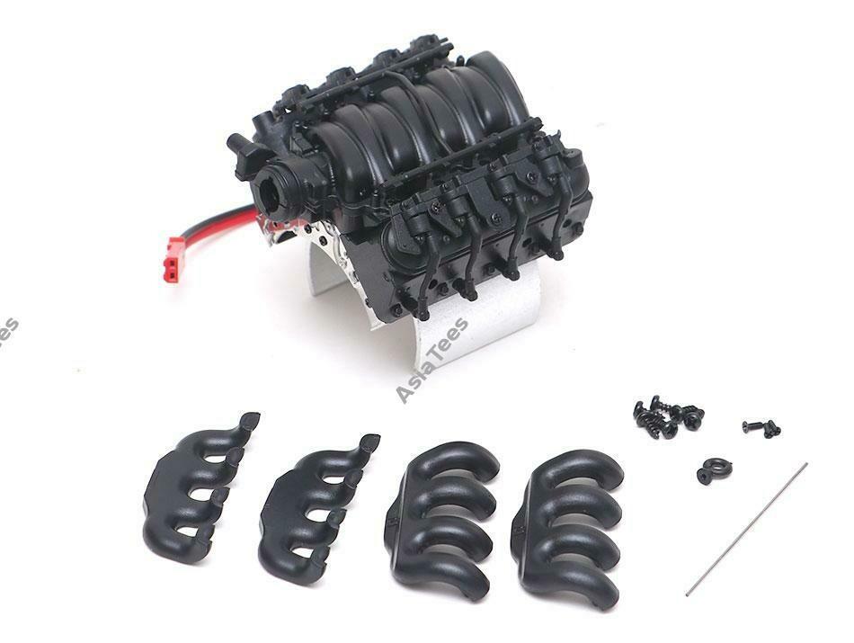 Team DC LS3 V8 6.2L Engine TRX With Cooling Fan & Temperature Sensor