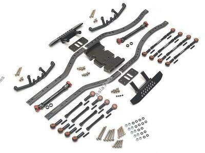 Boom Racing Kronik™ SWB Short Wheel Base Kit 252mm Wheelbase (SCX10 SCX10 2 Compatible)