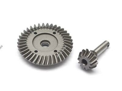 Boom Racing Heavy Duty Bevel Helical Gear Set - 38T/13T For All 1/10 Axial Trucks [RECON G6 The Fix Certified] BR648025