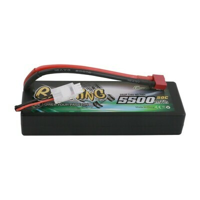 Gens ace Bashing Series 5200mAh 7.4V 2S1P 35C car Lipo Battery Pack Hardcase 24# (Deans)  GEA52002S35D