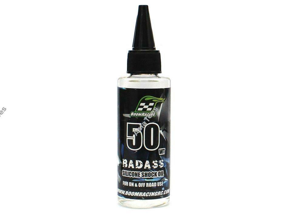 Boom Racing BADASS Silicone Shock Oil 50wt 60ml BRSHK050