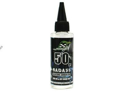 Boom Racing BADASS Silicone Shock Oil 50wt 60ml BRSHK050