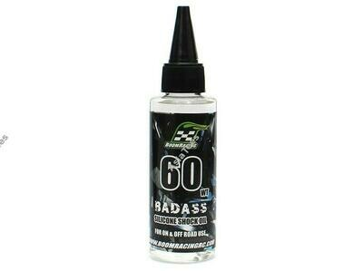 Boom Racing BADASS Silicone Shock Oil 60wt 60ml BRSHK060